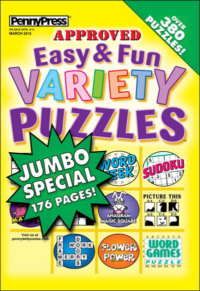 Subscribe to Easy & Fun Variety Puzzles