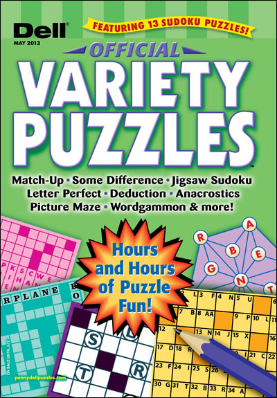 Subscribe to Dell Official Variety Puzzles