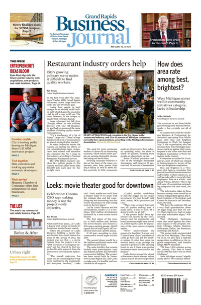Subscribe to Grand Rapids Business Journal