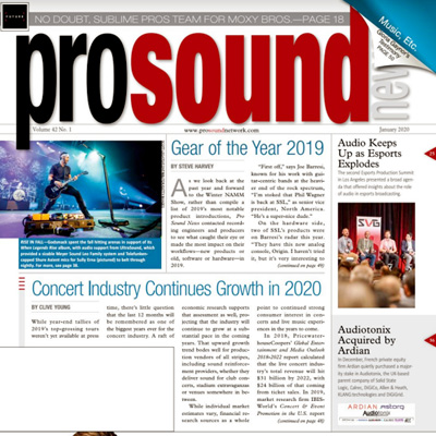 Subscribe to Pro Sound News