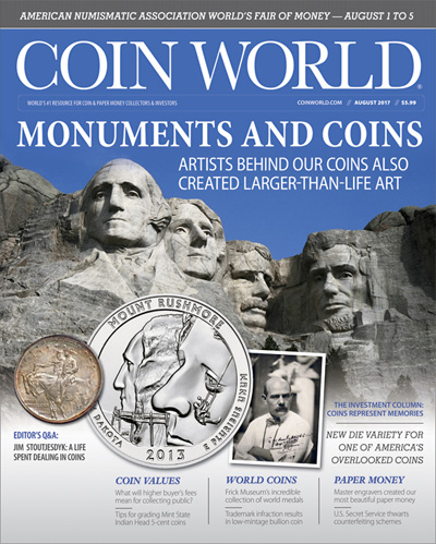 Subscribe to Coin World Monthly