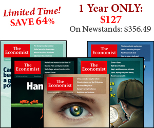 Save 82% on Economist