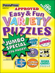 Easy & Fun Variety Puzzles1