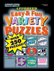 Easy & Fun Variety Puzzles