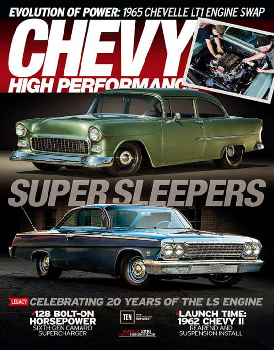 Chevy High Performance >> Chevy High Performance Magazine Subscription Magazineline