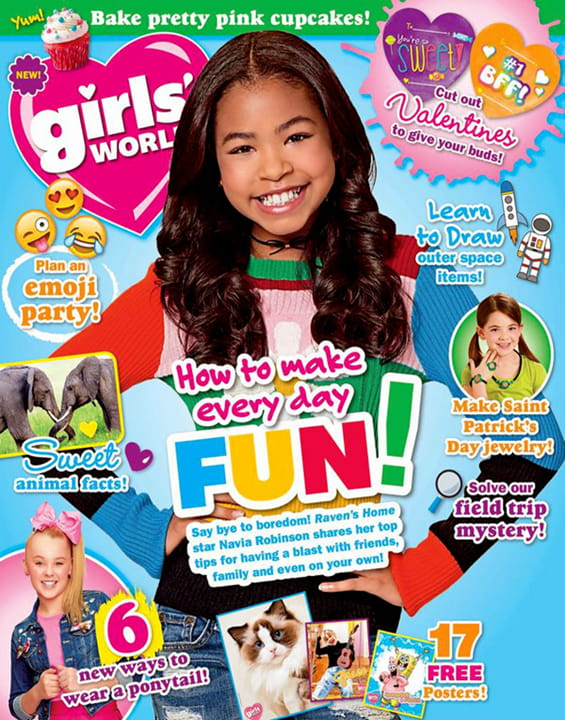 Girls' World Magazine Subscription