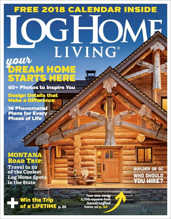 Beau Log Home Living