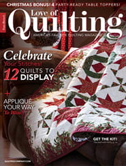 Fons & Porter's Love of Quilting1