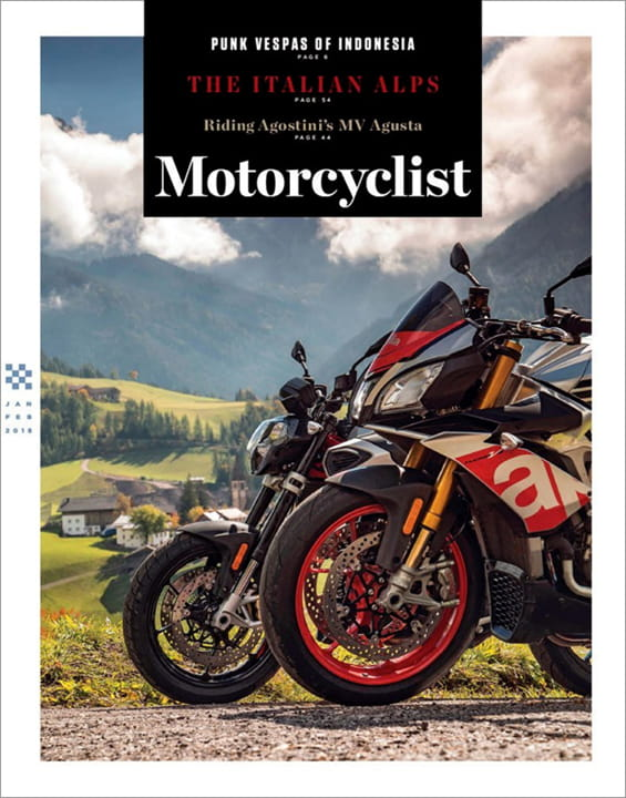 1-Year (6 Issues) of Motorcyclist Magazine Subscription