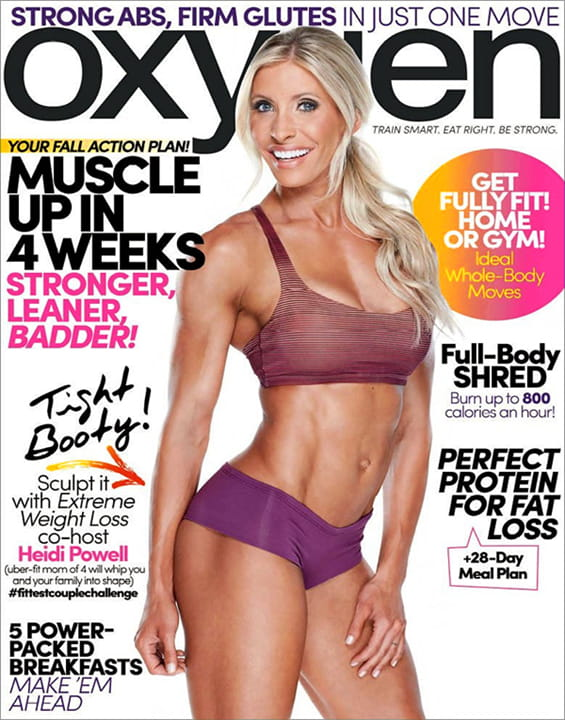 1-Yr Oxygen Magazine Subscription