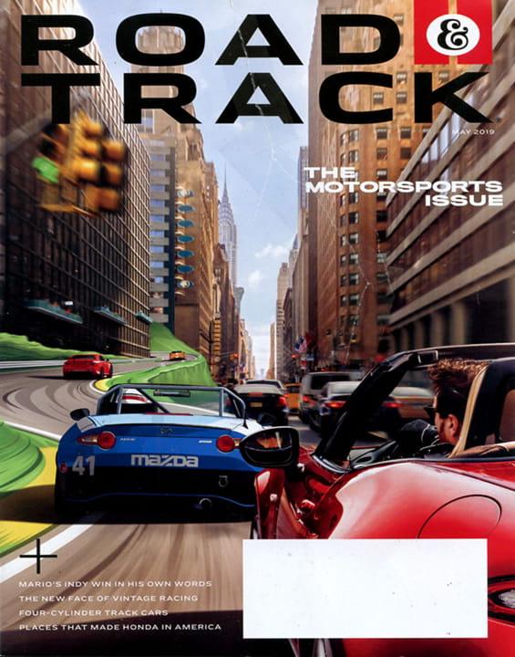 Road &Track Magazine Subscription | MagazineLine