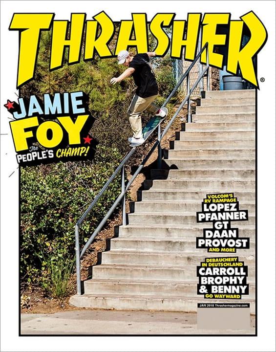 Thrasher Magazine Subscription  3261a47c4eab