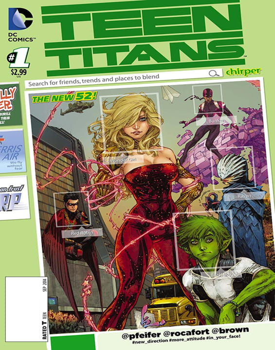 Teen Titans Comic
